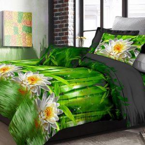 Adela Sprei dan Bedcover Bamboo