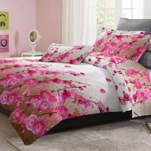 Adela Sprei dan Bedcover Blossom