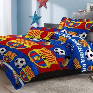 Adela Sprei dan Bedcover FC Barcelona